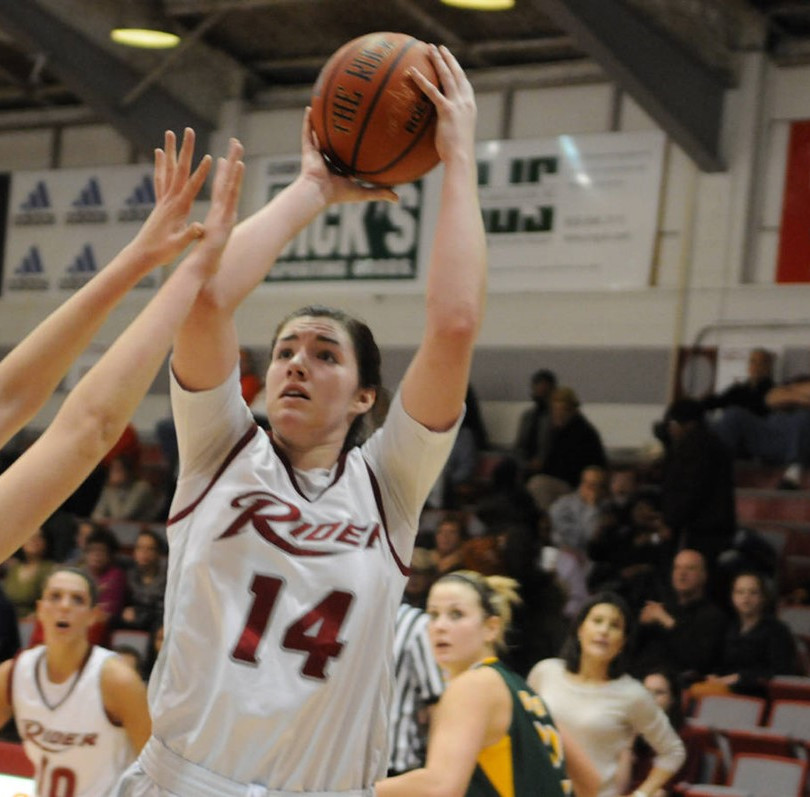 Cailtin Bopp for Rider #11 in rebounds for NCAA D1