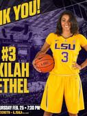 Akilah Bethel LSU