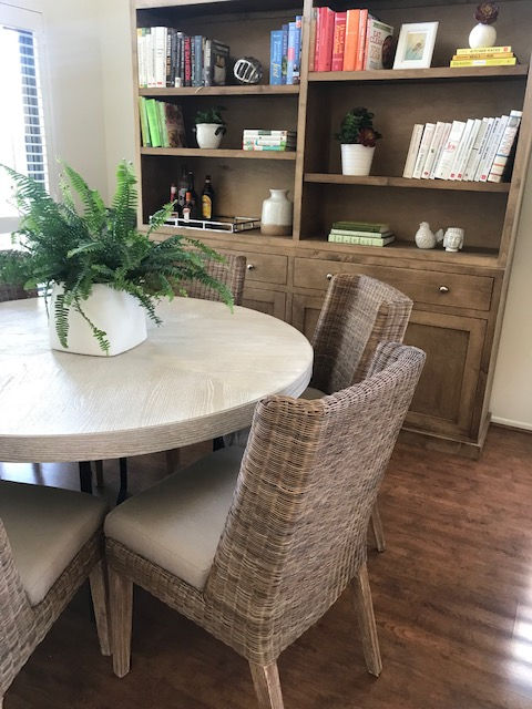 Dining Room in my Coastal Transitional Project. Shelley Sass Designs  www.shelleysassdesigns.com 858-255-9050 shelley@shelleysassdesigns.com #interiordesign  #remodeling #homestaging #interiorinspiration