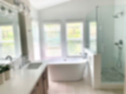 Master Bathroom Remodel in my Dreamy Bathroom Project. Shelley Sass Designs  www.shelleysassdesigns.com 858-255-9050 shelley@shelleysassdesigns.com #interiordesign  #remodeling #homestaging #interiorinspiration #bathroomremodel #bathroomdesign
