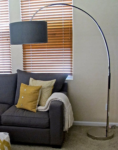 arched floorlamp