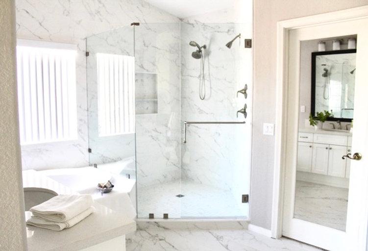 Bathroom in Ocean Street Project