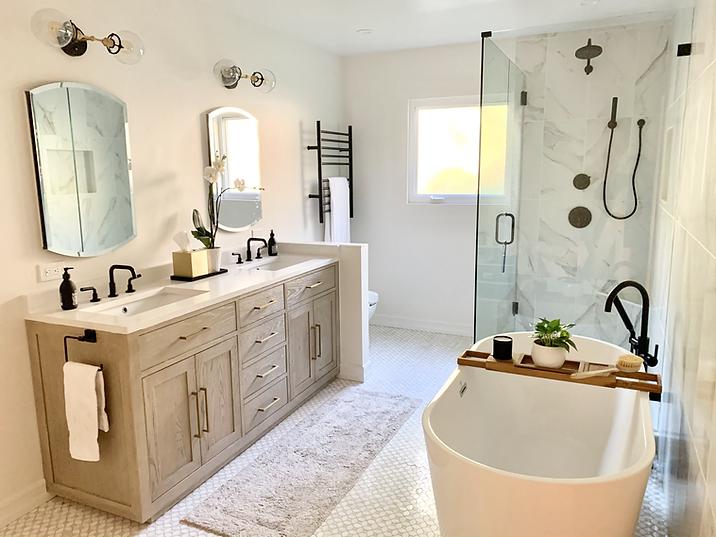 Master Bath remodel in La Jolla