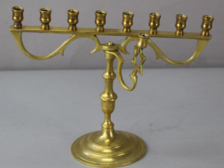 Revitalizing Treasured Family Heirlooms: Menorahs