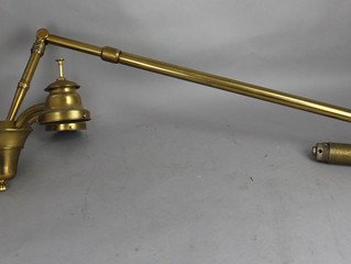 An Antique Lamp Come in for a Cleaning