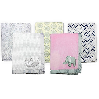 Wendy Bellissimo™ Mix & Match Plush Blanket