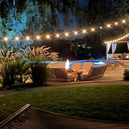 Our outdoor string lights