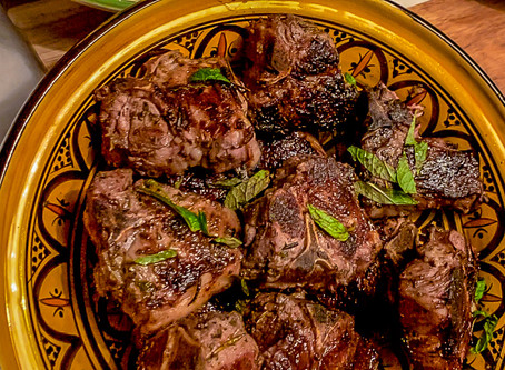 Grilled Lamb Loin Chops
