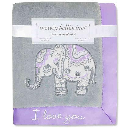 Wendy Bellissimo™ Anya Plush Blanket