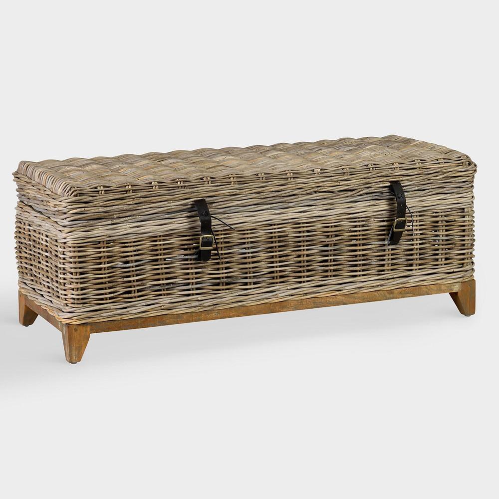 Natural Rattan Basket Bretta Coffee Table