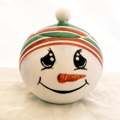 """Snowman Candle 4.25"""""""