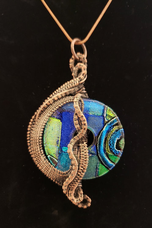 Wired Wrapped Necklace