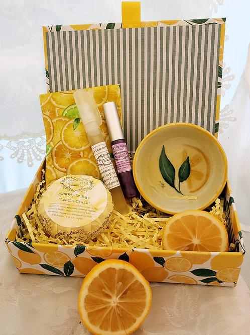 Lemon Shampoo Bar Box