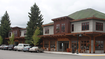 DGStamp Architects Don Stamp NCARB Architect Meriwether Building, Retail and Offices, Hailey, Idaho