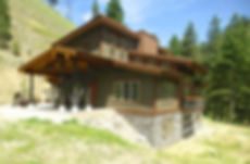 DGStamp Architects Don Stamp NCARB Southeast Southcentral Idaho Western Montana Architect Lemhi County Idaho Residence