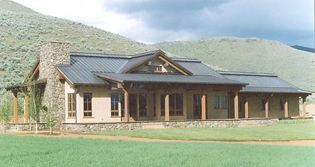 DGStamp Architects Don Stamp NCARB Southeast Southcentral Idaho Western Montana Architect Blaine County Silvercreek Picabo Idaho Residence