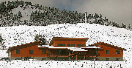 DGStamp Architects Don Stamp NCARB Architect Thompson Creek Mines Administration Building Clayton Idaho