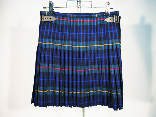 MILITARY BOX PLEATS KILT