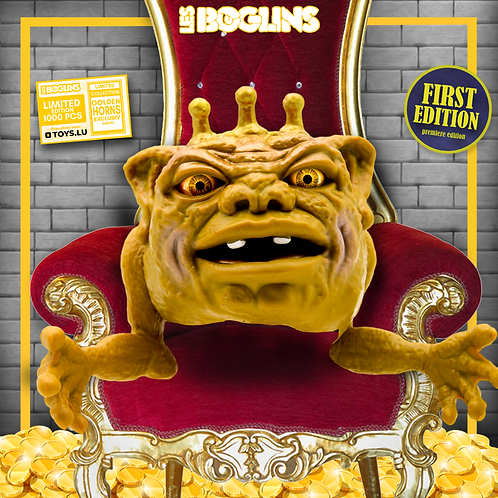 Boglins Gold Horned- King Dwork (série limitée)