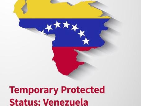 Protección Migratoria a Venezolanos en EE.UU.