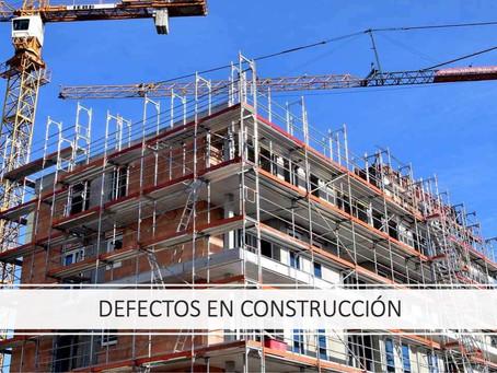 Cómo Reclamar Defectos de Construcción