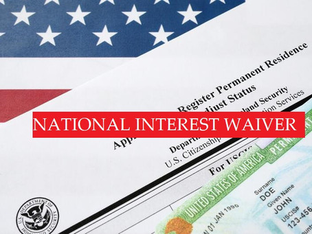 EB-2: NATIONAL INTEREST WAIVER