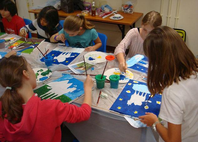 Painting lesson Hong Kong