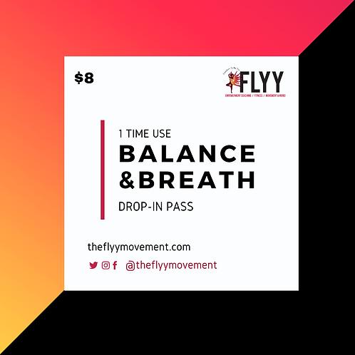 Balance & Breath - Drop In