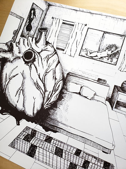 My Heart (18x24 Poster)