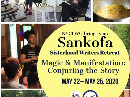 REGISTRATION OPEN: Sankofa Sisterhood Writer's Retreat – year six!