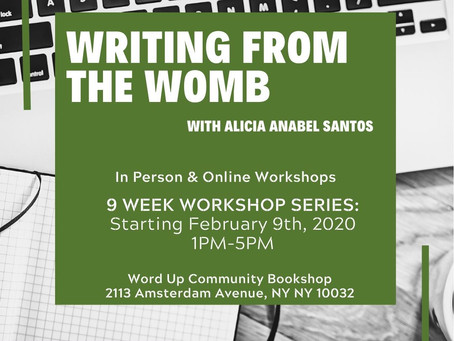 Writing from the Womb Available ONLINE