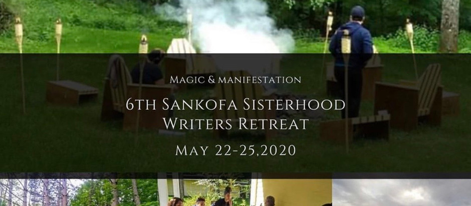 Sankofa Writers Retreat 4 Day Virtual Event
