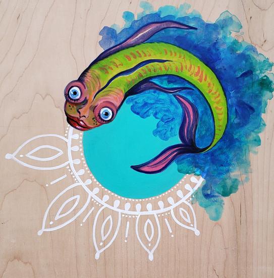 """""""El Pez de la Imaginación"""" (Imagination Fish)"""