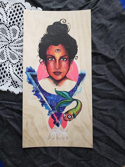 "Luna Rosada (8""x16"" Print)"