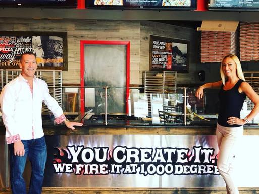 1000 DEGREES PIZZA…COFFEE SHOP/BAKERY IN GLEN LOCHEN