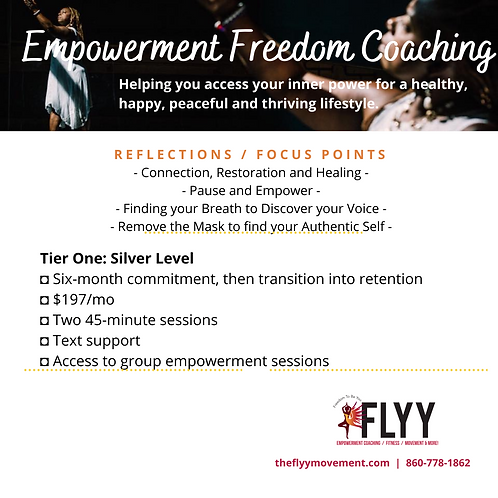Empowerment Freedom Coaching (Tier 1)