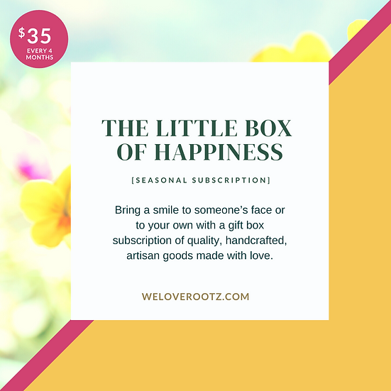The Little Box of Happiness (Seasonal Subscription)