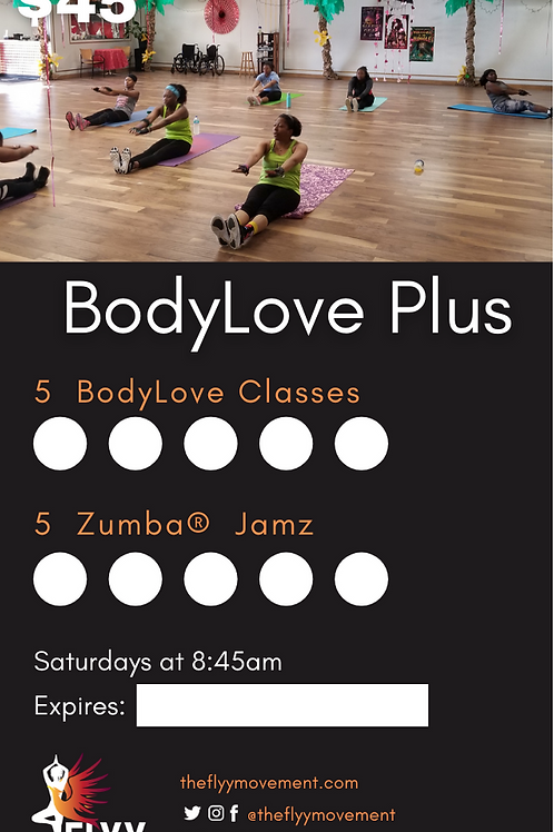 BodyLove Plus Party Card
