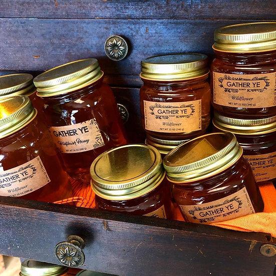 Gather Ye Wildflower Honey (40oz)