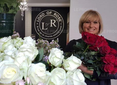 Lyon : sa passion pour la rose, Albane en a fait son métier