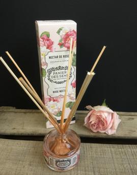 Diffuseur Nectar de Rose Panier des Sens