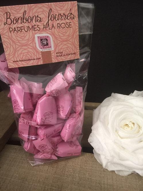 Bonbons fourrés Parfumés à la Rose
