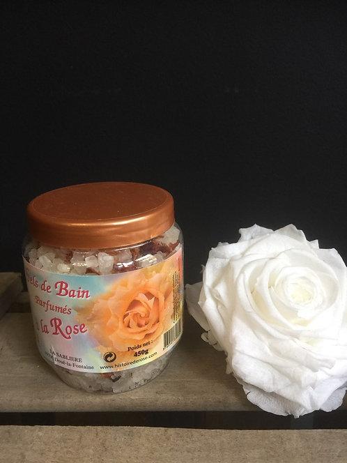 Sels de bain à la Rose