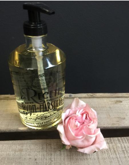 Savon de Marseille à l'huile essentielle de Rose