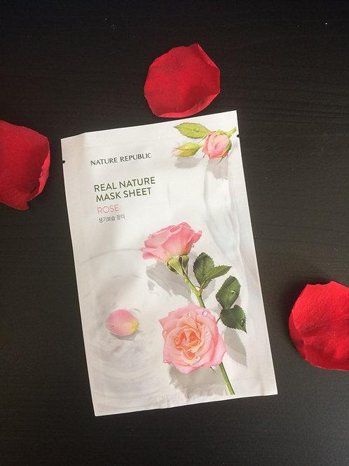 Masques Coréens à la Rose