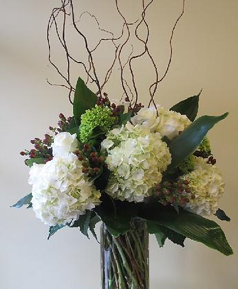 Corporate flower display