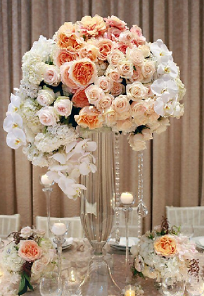 T2 Luxury flower centrepiece