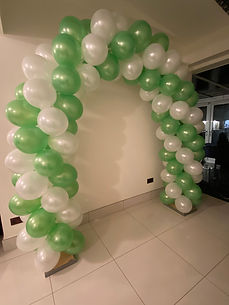 green and white balloon arch.JPG