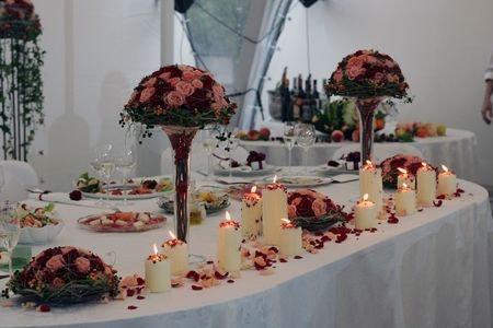 SH19-Flower centrepiece arrangement