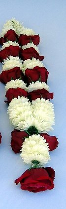 Garland with roses